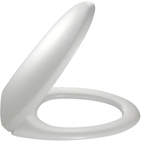 Abattant Patio thermodur fixation métal rapide - Blanc