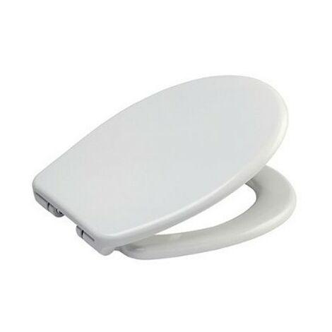 Abattant pour WC Mazu - Résine thermodurcissable - Blanc