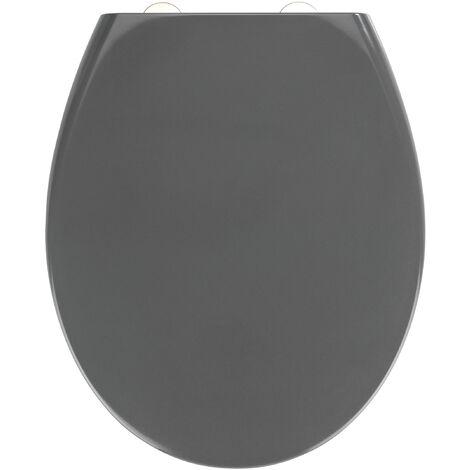 Abattant Samos Easy-Close gris WENKO