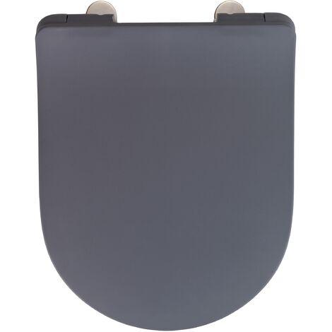 Abattant Sedilo, gris mat, Duroplast
