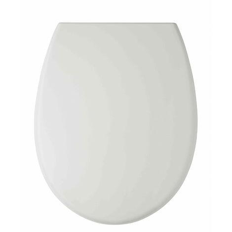 Abattant WC 44cm Plastique Thermodur Blanc Cover - Blanc