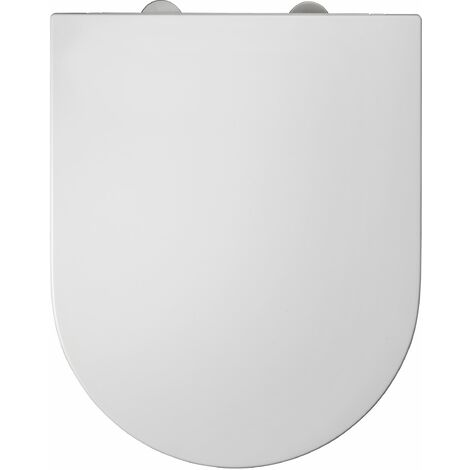 """main image of """"Abattant WC à fermeture progressive et déclipsable Duneo - Blanc"""""""