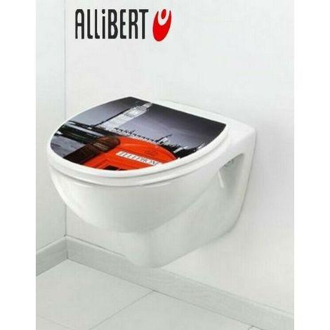 Abattant wc Allibert London réf 197751