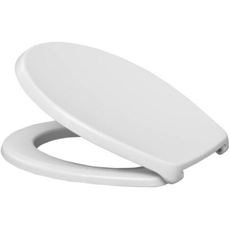 Abattant WC Ancoflash - résine thermodur blanc