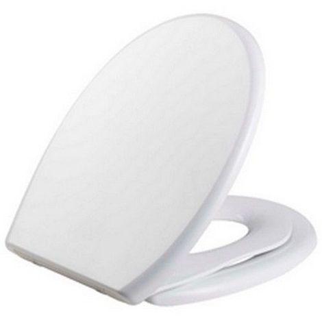 8aaca142ad Abattant wc avec frein de chute serie KIDS pour enfants 446 x 370 x 54 mm  Frein de chute Fixations réglables (min 80 – max 200 mm) / Couleur: Blanc  ...