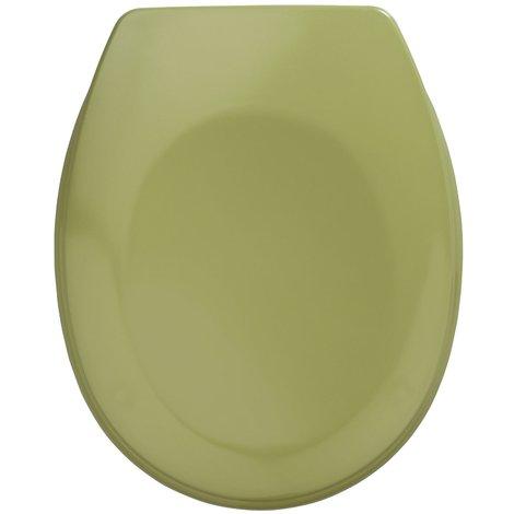 "main image of ""Abattant WC Bergamo coloris vert mousse Dim : 35 x 44,4 cm"""