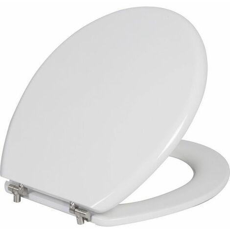 Abattant WC blanc double - Cap Ferrat Classic - Siamp