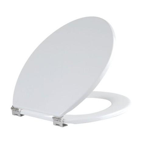 Abattant WC Blanc double - Compact - Olfa