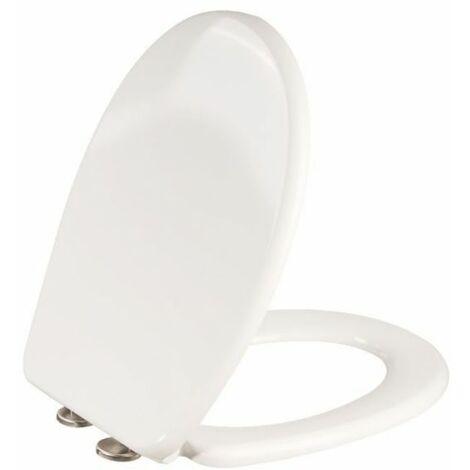 Abattant WC blanc double - Esterel Premium - Siamp