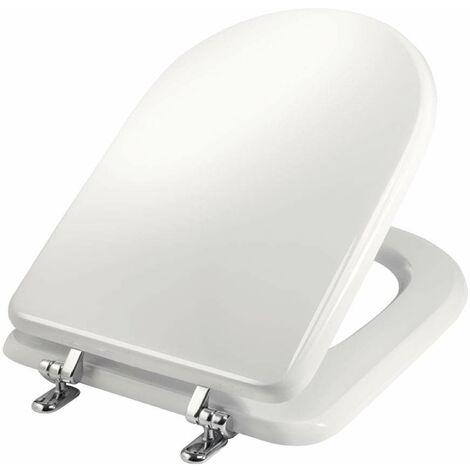 Abattant WC blanc pour vases série Sintesi Cesame Niclam N51 | blanc