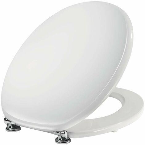 Abattant WC blanc pour vases Universal Niclam N1 | blanc