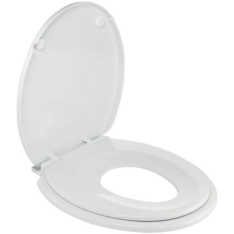 d/émod/és en Forme de U Toilette Abattants WC Originaux TINANG AE Abattant WC avec Frein De Chute Toilettes M/énage Epaississement Size : 33.5 X 41.5-44.5cm Descendant