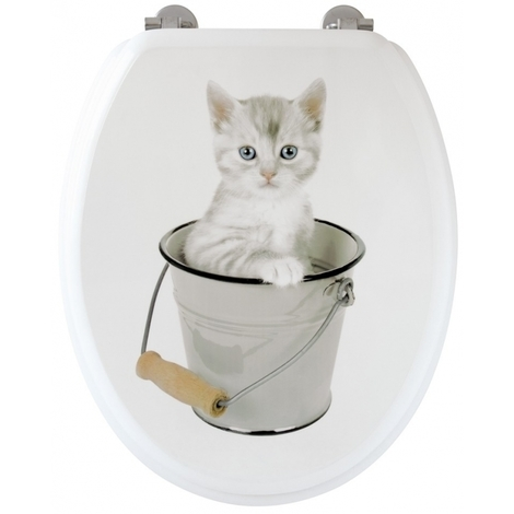 Abattant WC chaton