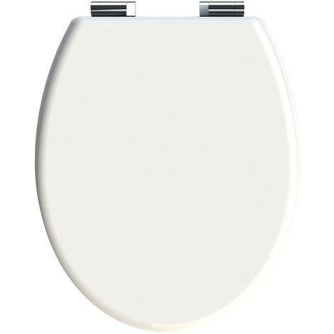 Abattant WC Cilento - Blanc - Blanc
