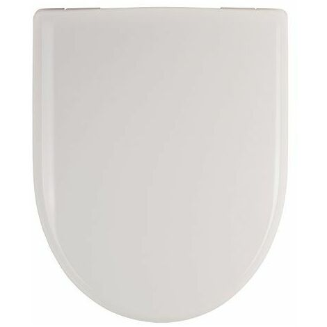 Abattant WC Convient à Métro Artic Omnia achitectura Villeroy & Boch Blanc Lunette WC Lunettes de WC en plastique duroplast, 03984 0