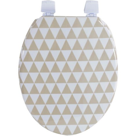 Abattant wc de Toilette plastique Duroplast Cuvette Universelle Motifs double impression