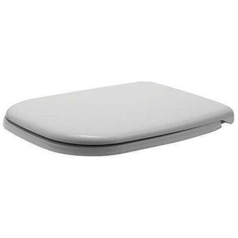 Abattant WC Duravit D-Code Softclose, blanc pour WC Compact
