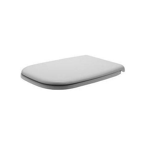 Abattant WC Duravit D-Code standard, blanc pour WC compact