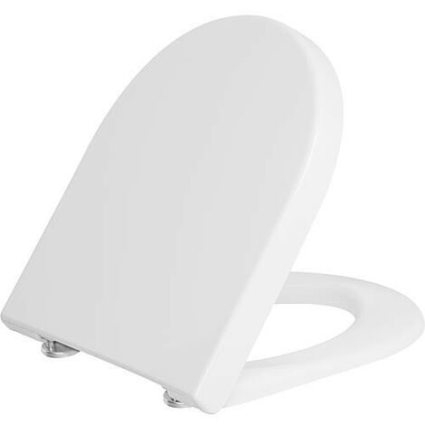 "main image of ""Abattant WC Duravit Starck 3 Softclose, blanc, avec charniere inox lxhxp: 380x30x383 mm"""