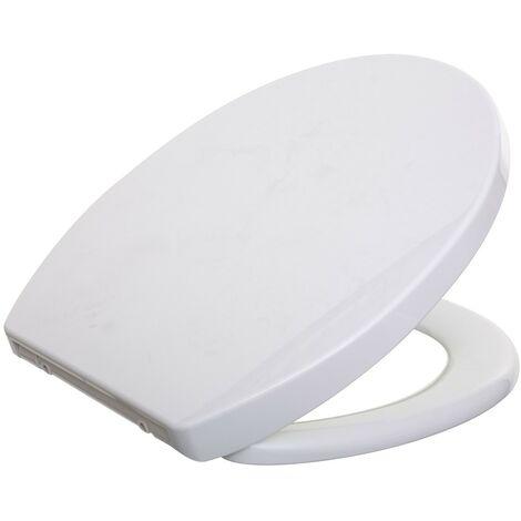 Abattant WC Ekla blanc silencieux