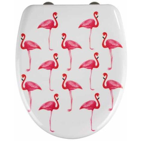 Abattant WC Flamant rose WENKO