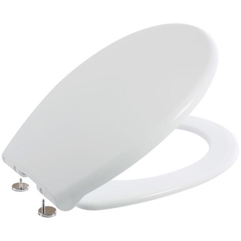 Abattant WC frein de chute blanc NF