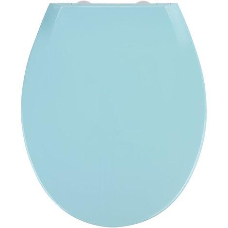 Abattant WC Kos Bleu Dim : 37 x 44cm