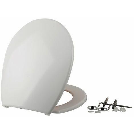 Abattant WC Menton blanc - SIAMP : 43211017