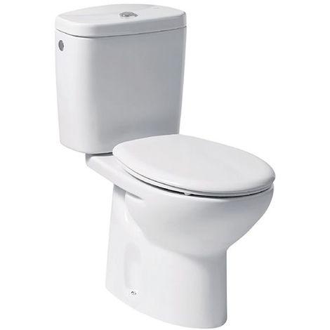 Abattant WC N-F polypropylène ROCA POLO/LYRA - Blanc