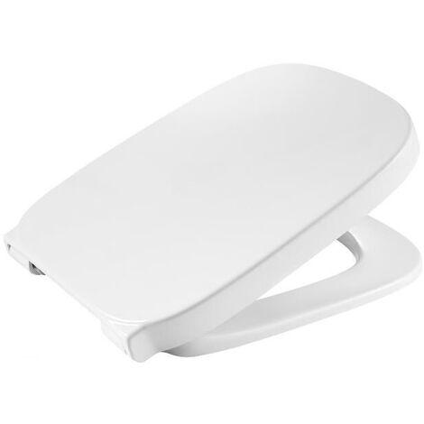 Abattant WC N-F thermodur DEBBA SQUARE - Blanc