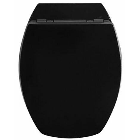 abattant wc noir - 819879 - allibert