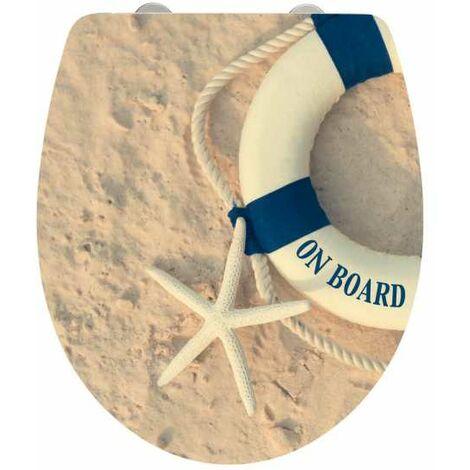 Abattant WC Original, abattant WC avec frein de chute, On Board