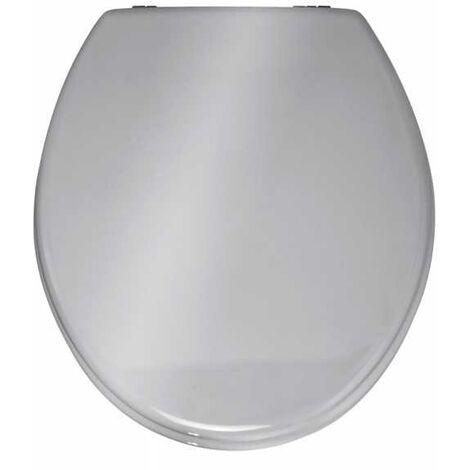 Abattant WC Prima Coloris Argenté WENKO