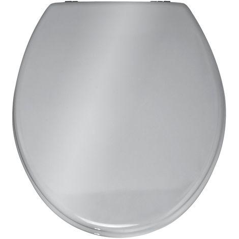 Abattant WC Prima - MDF - Argenté - Argent