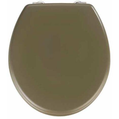 Abattant WC Prima taupe mat, MDF WENKO