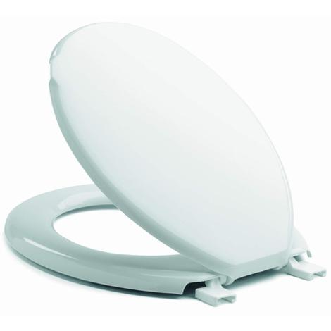 Abattant WC Siège de Toilette Blanc mod. Pellicano