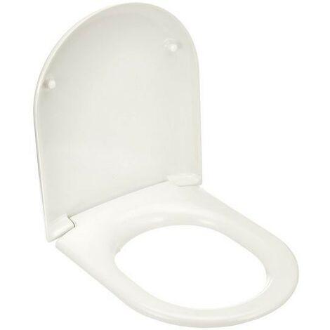 Abattant wc Slim Ideal Standard Esedra blanc thermodurcissable | Plastica