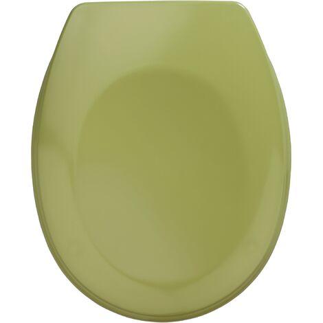 Abattant WC vert kaki, Bergamo, duroplastiqe WENKO