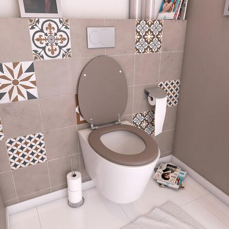 Abattants wc unis en mdf - GALEDO Largeur : 37 cm