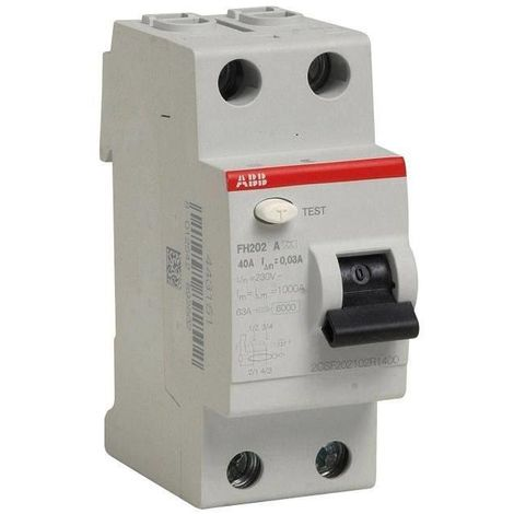 Abb 444161 Differential switch 63A - type A - FH202S