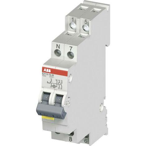 ABB Ausschalter mit LED 16A 2 Schließer 250 V/AC, 400 V/AC 2CCA703110R0001 X56746