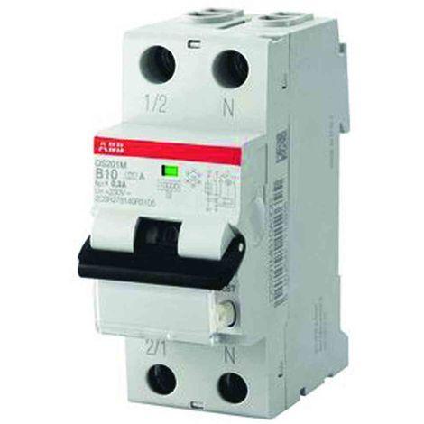 ABB DS201A-B16/0,01 FI/LS-Schalter 6kA 1P+N Typ A,B 16, 10mA