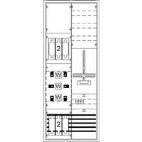 ABB KS4204 Mess- und Wandlerschrank, Aufputzmit Zählerkreuz