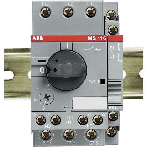 ABB MS 116-16,0 Motorschutzschalter einstellbar 690 V/AC 16A 1St. D79219