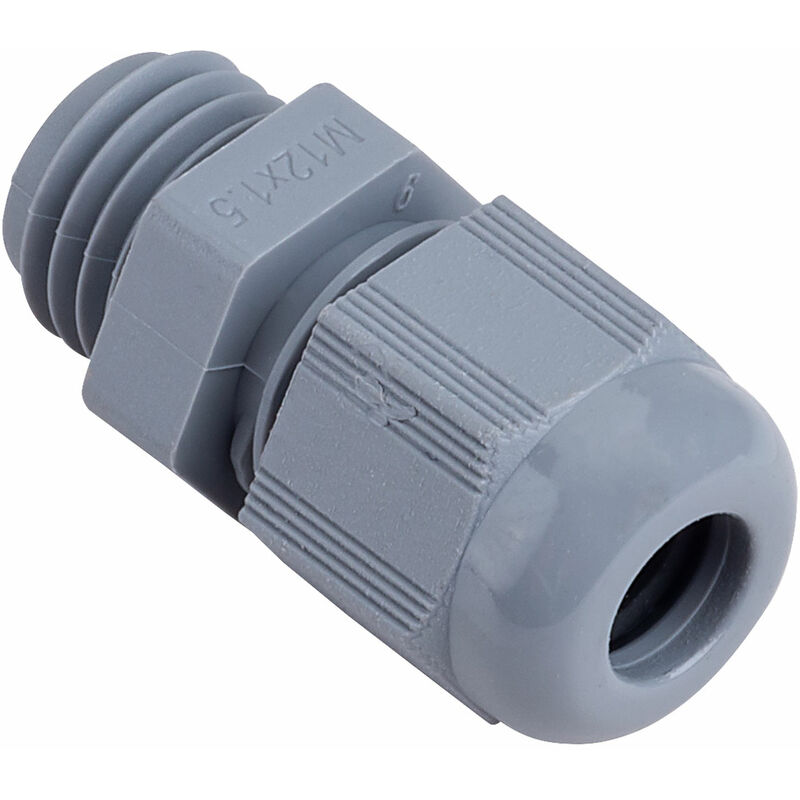 Image of NCG-M122G M12 3-6.5mm Grey IP68 Nylon Cable Glands - ABB