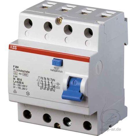 ABB Stotz FI-Schutzschalter 40/0,5A 4p. F 204A-40/0,5