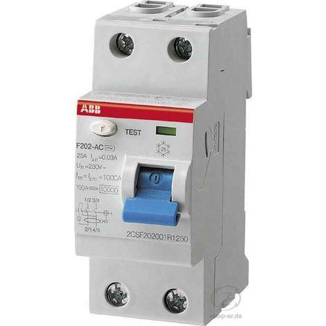 ABB Stotz FI-Schutzschalter pro M Compact F 202A-25/0,03