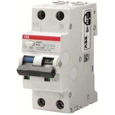 ABB Stotz S&J FI/LS-Schalter DS201A-B16/0,01