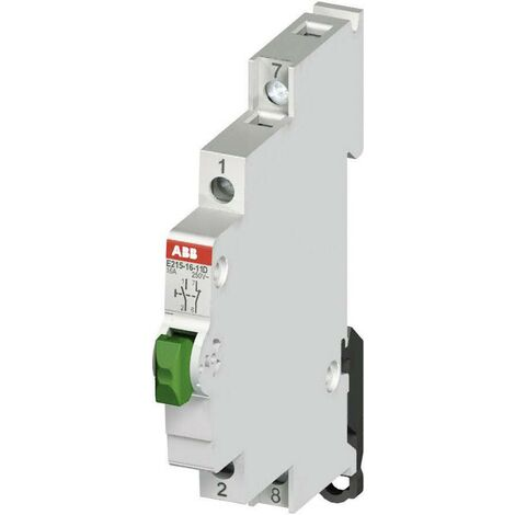 ABB Taster 16A 1 Schließer, 1 Öffner 250 V/AC 2CCA703151R0001 X56919