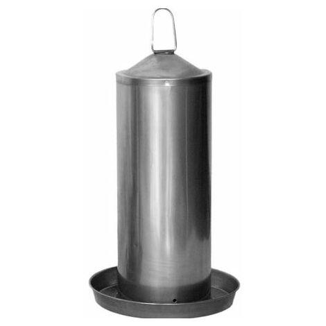 Abbeveratoio acciaio inossidabile 5L per galline